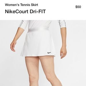 Nike court dri fit tennis skort xl